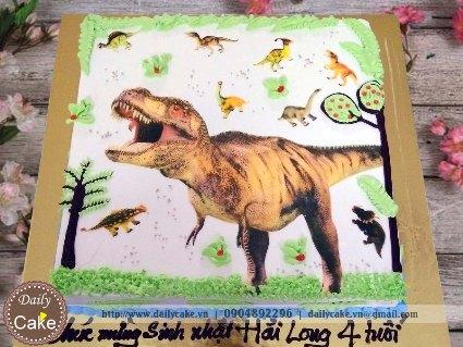 Bánh sinh nhật khủng long 001
