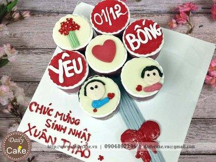 Bánh cupcake sinh nhật 003