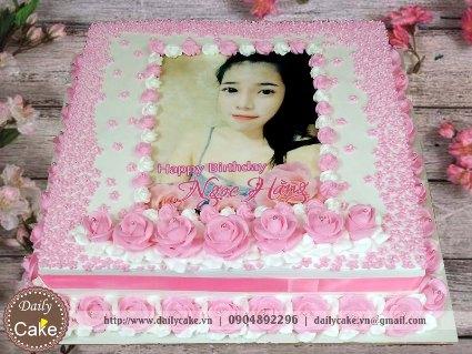 Bánh in ảnh sinh nhật bạn gái 014