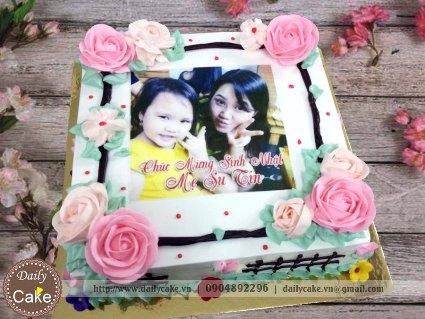 Bánh in ảnh sinh nhật bạn gái 043