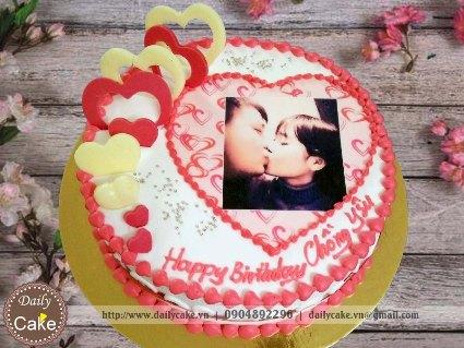 Bánh in ảnh sinh nhật chồng yêu 001