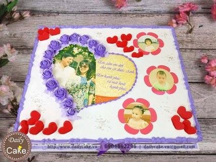 Bánh in ảnh sinh nhật mẹ yêu 004